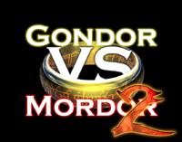 Gondor vs Mordor 2 logo